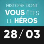 Histoire dont vous êtes le héros 28 mars L'Improviste
