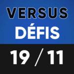 Versus Défis 19 novembre Lumen