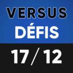 Versus Défis 17 décembre Lumen